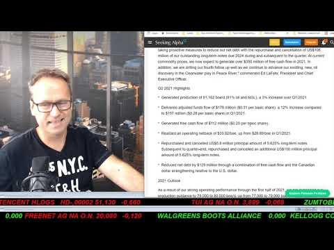 SmallCap-Investor Talk 1203 über Endo, Harbour, Baytex, HP Inc., SS&C, Hochtief, …