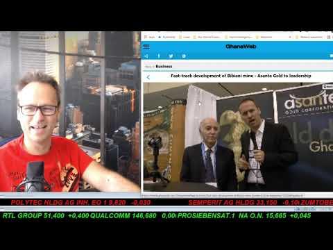 SmallCap-Investor Talk 1207 über Gold, DouYu, Mogo und Freenet