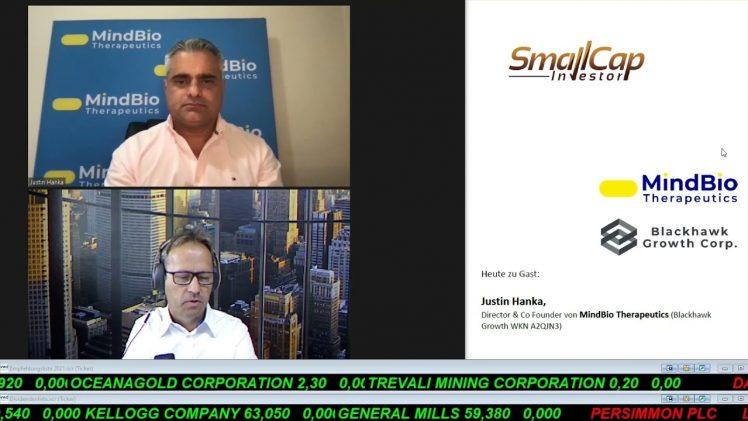 SmallCap-Investor Interview mit Justin Hanka, Director & Co-Founder von MindBio (WKN A2QJN3)